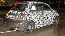 Fiat 500 Abarth spy photo