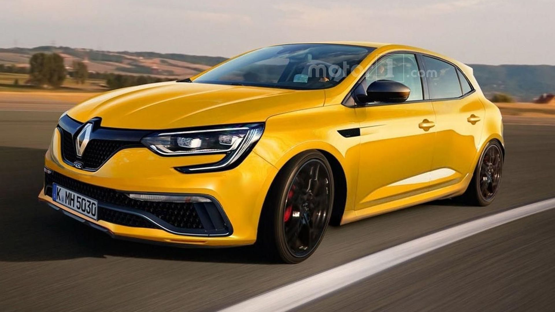 2018 Renault Megane Rs To Have 300 Hp Awd