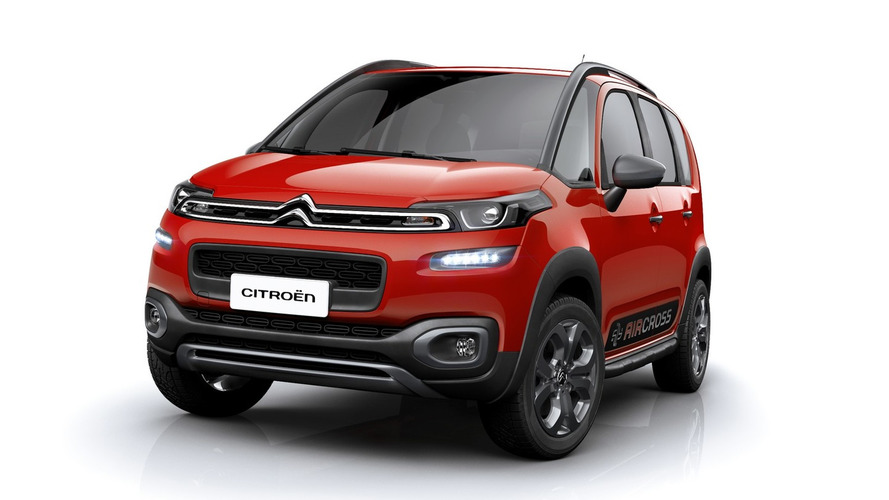 Citroen launches updated C3 Aircross for Latin America