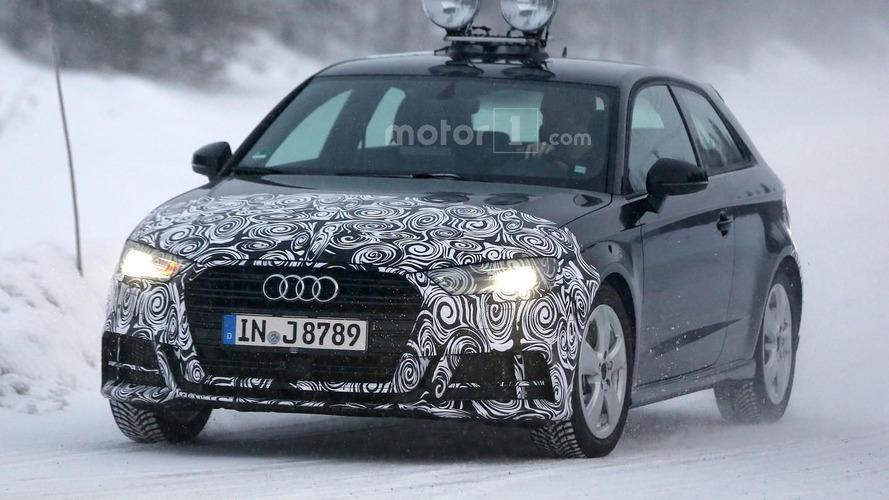 Three-door Audi A3 facelift spied hiding subtle changes