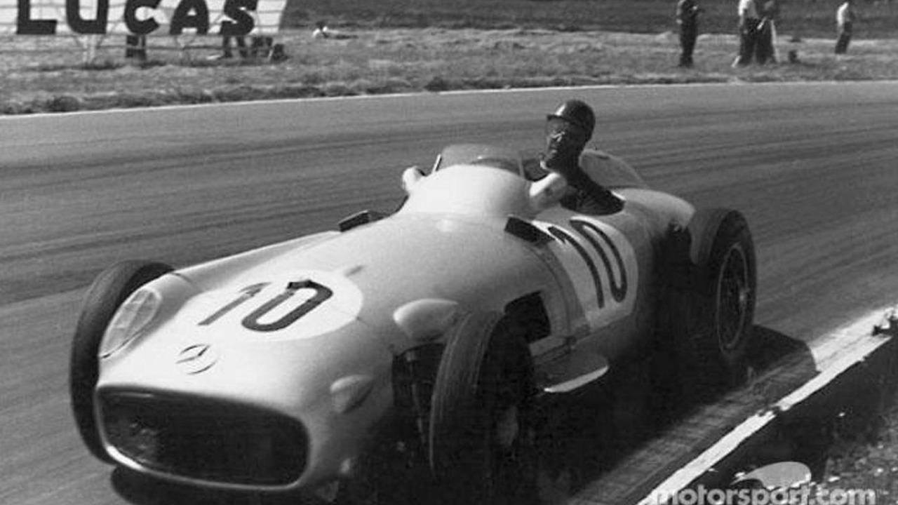 Juan Manuel Fangio, British GP 1956