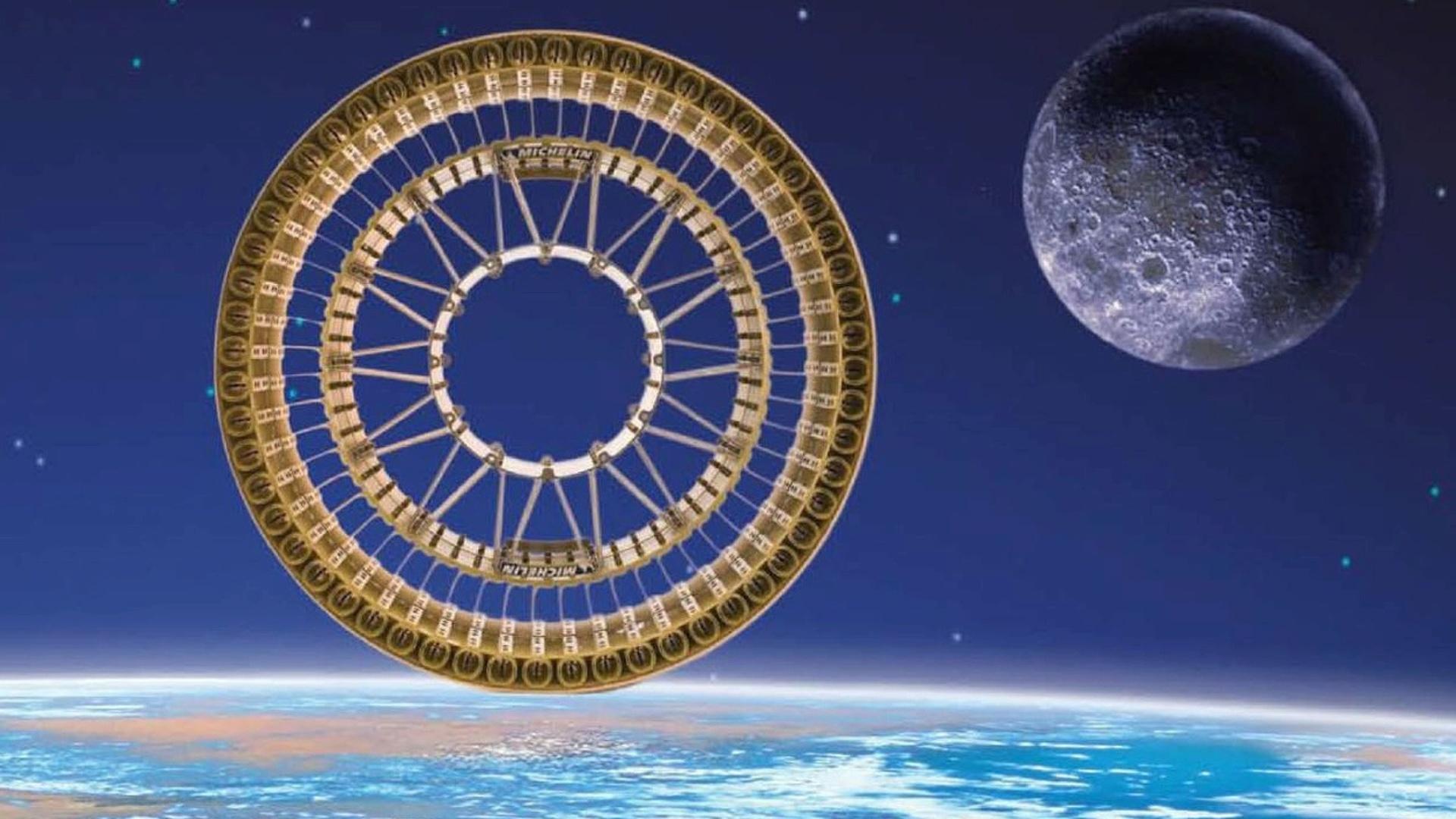 Michelin Develops Lunar Wheel for NASA Moon Rover Vehicles