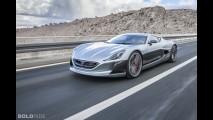 La Rimac Concept One monte sur la piste