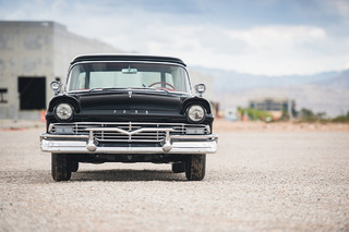 1957 Ford Courier Sedan Heads to Auction With a Little Junk in the Trunk