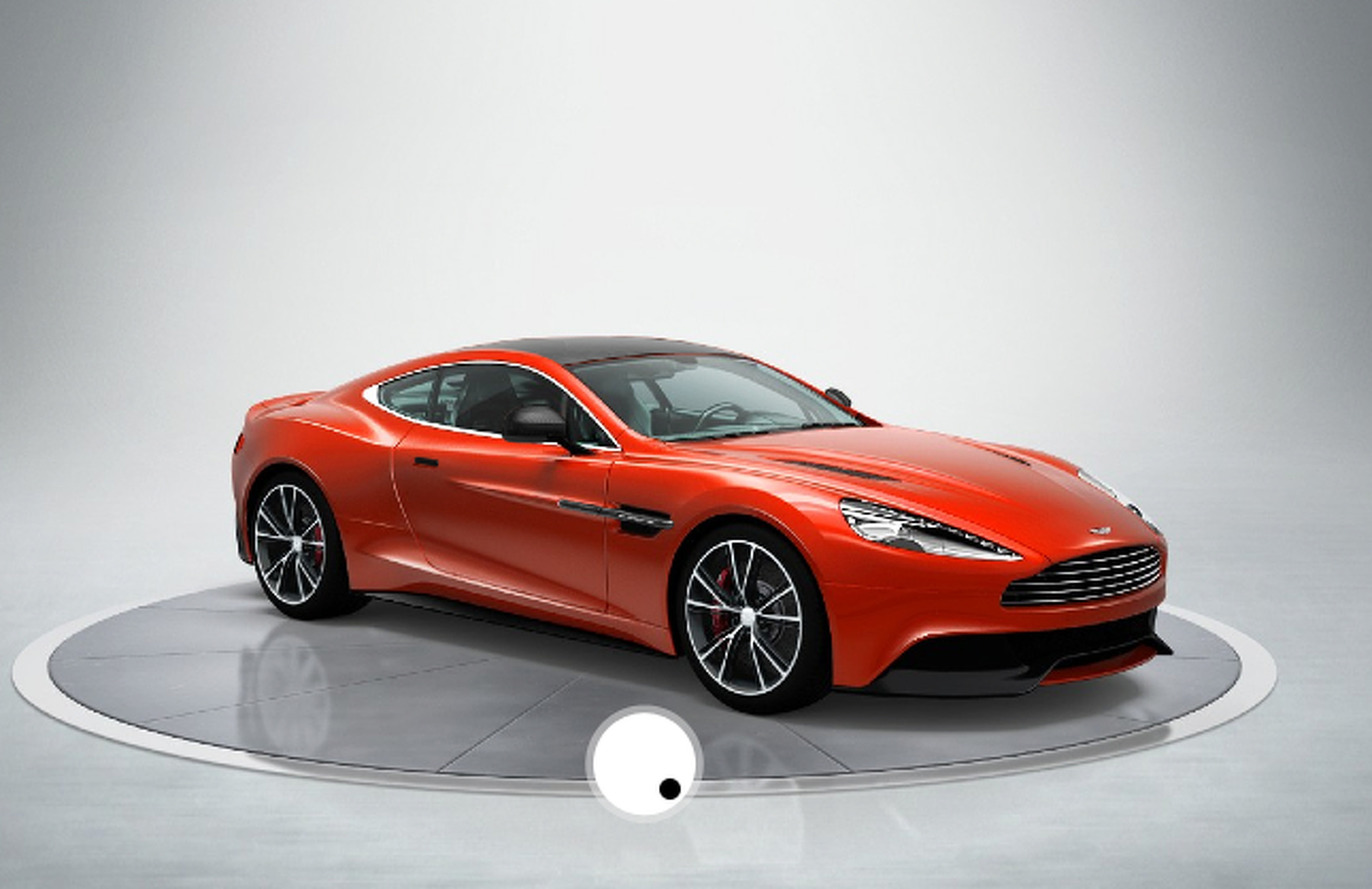 Build Your Own Aston Martin Vanquish That You Will Never Own