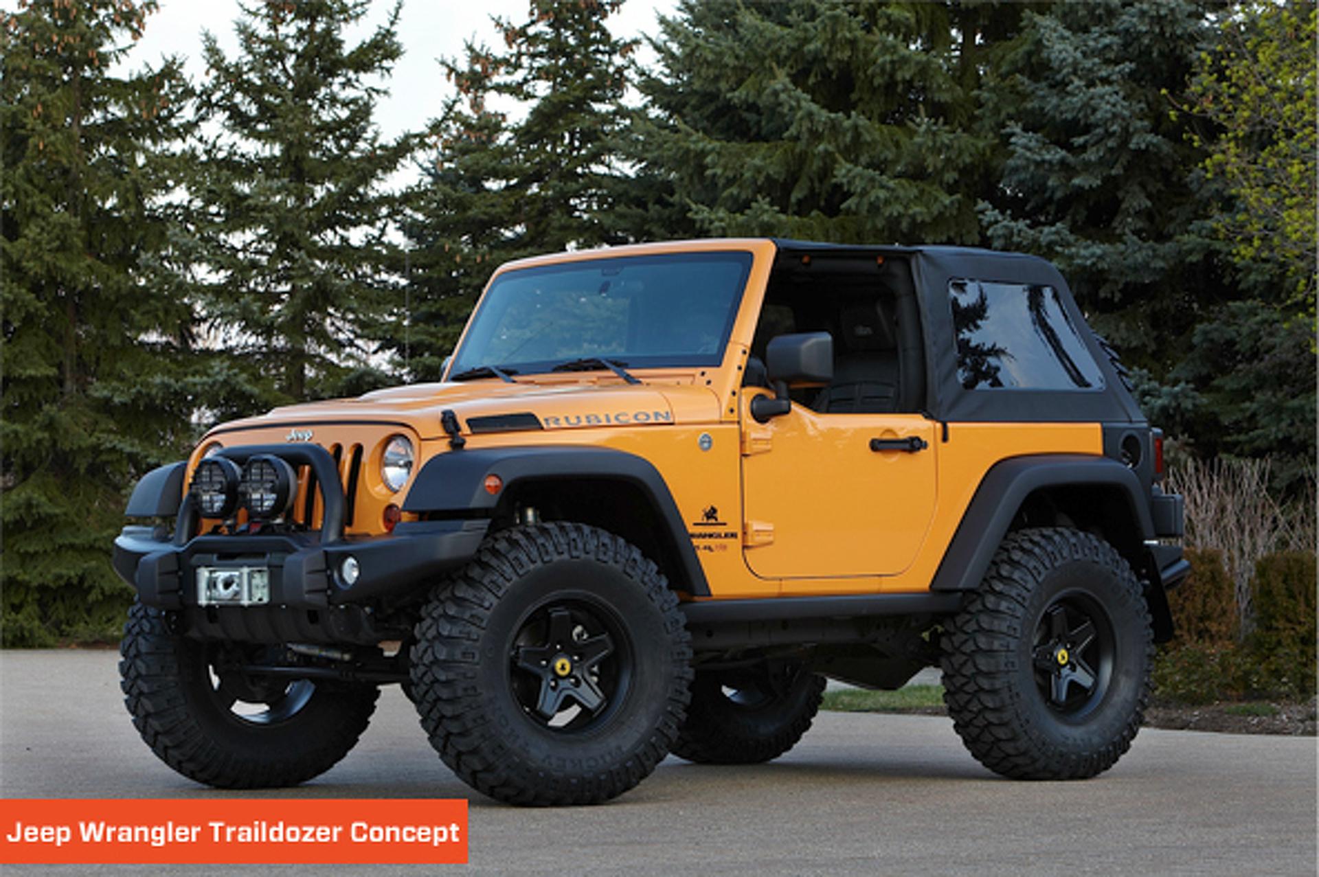 Unveiled: 2012 Easter Safari Jeeps