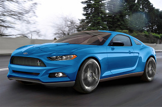 Spied Ride: Is this the 2015 Ford Mustang?
