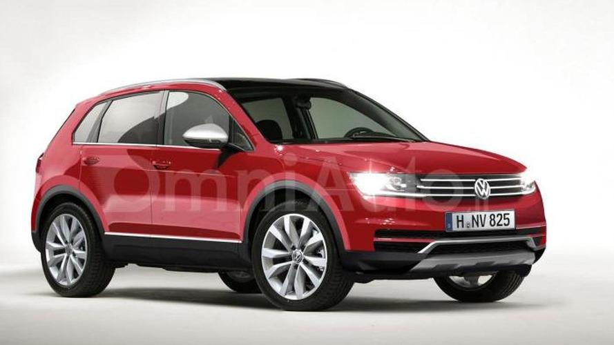 2016 Volkswagen Tiguan rendered ahead of upcoming official reveal
