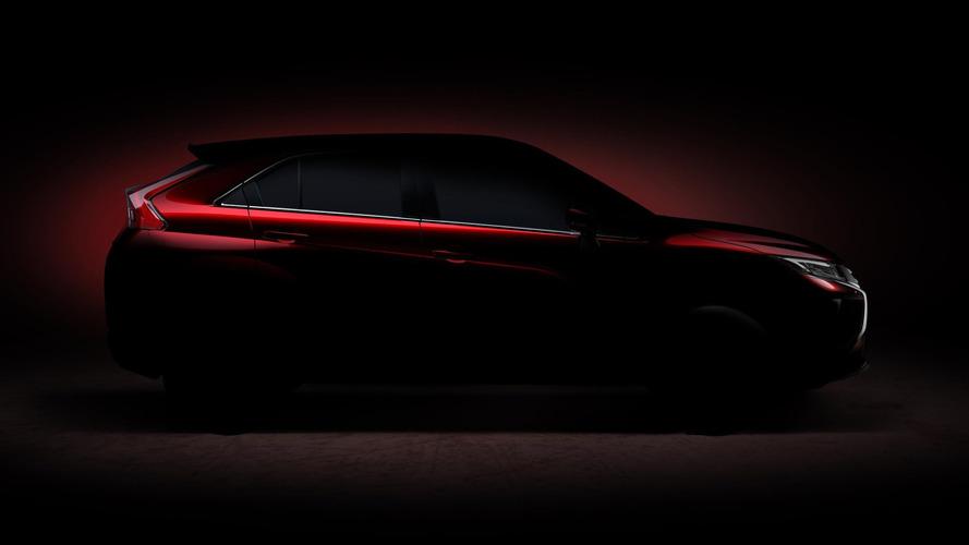 2017 Mitsubishi Eclipse Cross teasers