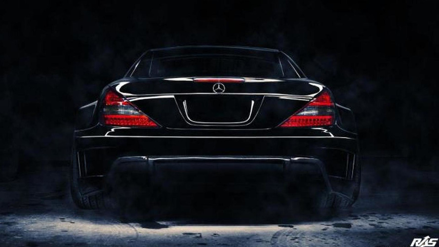 Mercedes-Benz SL (R230) receives wide body kit from Renown Auto Style