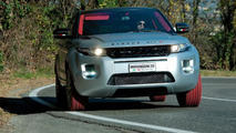 Marangoni Evoque HFI-R is a dual-fuel conversion with ruby red tires