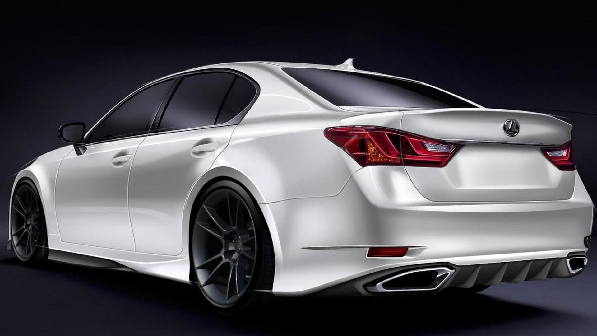 Lexus previews SEMA 2011 entourage