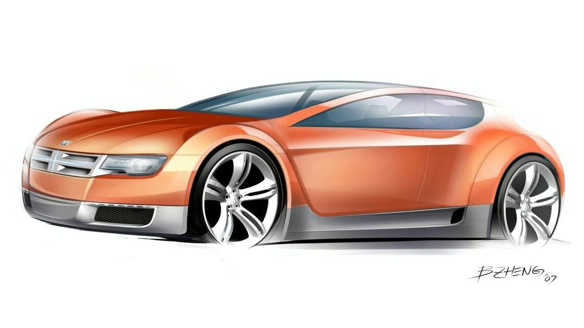 Dodge Zeo Hybrid Concept to Star at Detroit