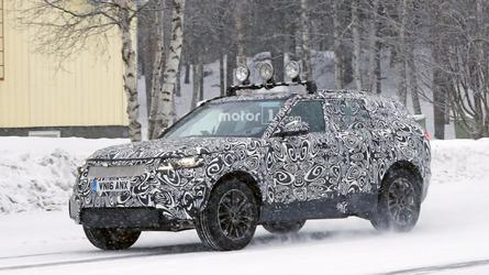 Range Rover Sport Coupe spy photos