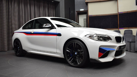 This BMW M2 has probably the longest options list