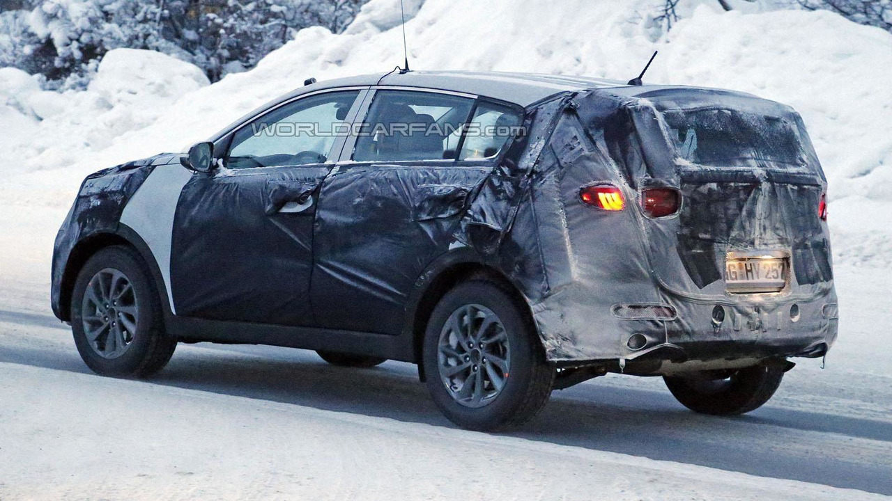 2016 / 2017 Kia Sportage spy photo