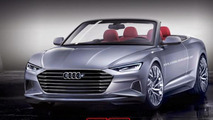 Audi Prologue Cabriolet previews a future A8-based convertible