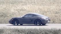 Next Porsche Cayman spied for first time