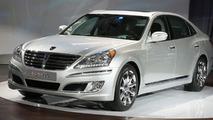 Hyundai Equus Unveiled in New York