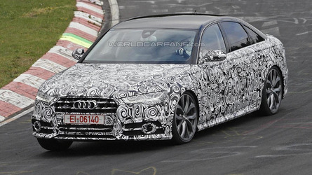 Audi S6 facelift spied in Germany
