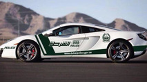 Dubai Police add a McLaren MP4-12C to their lineup