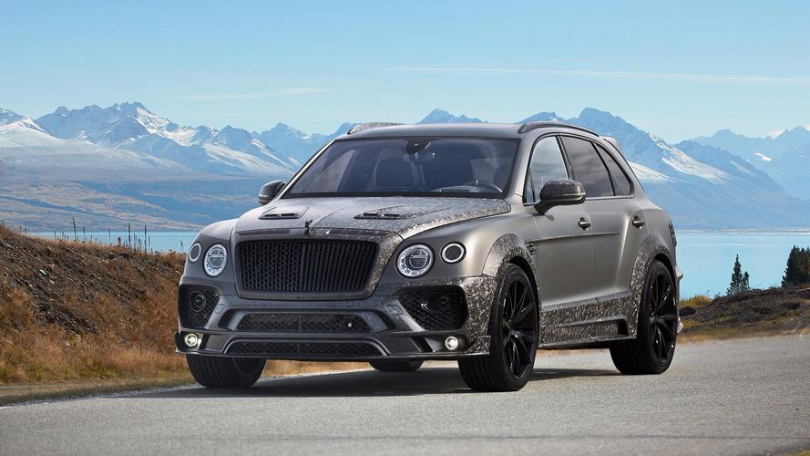 Genève 2017 - Bentley Bentayga Black Edition par Mansory