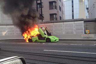 Lamborghini Murcielago Burns in a Blaze of Glory