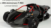 Campagna 20th Anniversary T-REX Limited Edition unveiled [video]