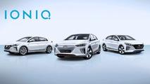 Hyundai IONIQ range heading to Geneva in Euro specification