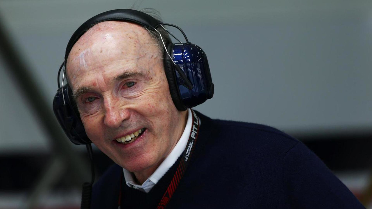 Frank Williams 19.04.2013 Bahrain Grand Prix