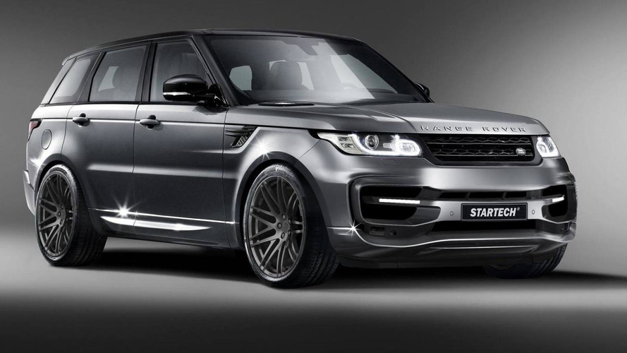 Startech releases first image of new Range Rover Sport body kit