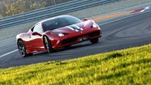 Ferrari 458 Speciale on-board video at Fiorano with test driver Raffaele De Simone