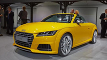 Audi TTS Roadster live from Volkswagen's Paris Motor Show preview evening