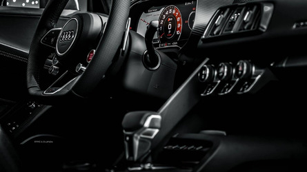 2015 Audi R8 V10 Plus in Mythos Black