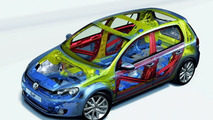 VW Golf VI Receives Five Stars in EuroNCAP Crash Tests