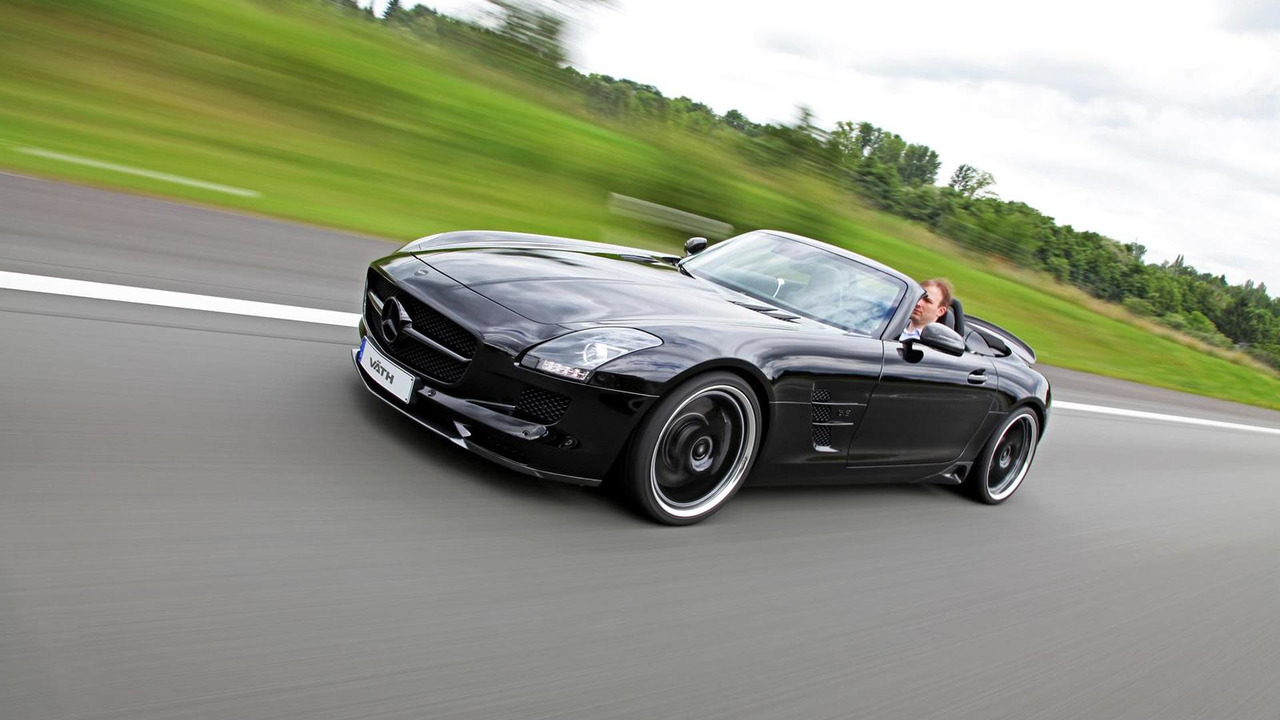 Mercedes SLS Roadster with 702PS by VÄTH Automobiltechnik