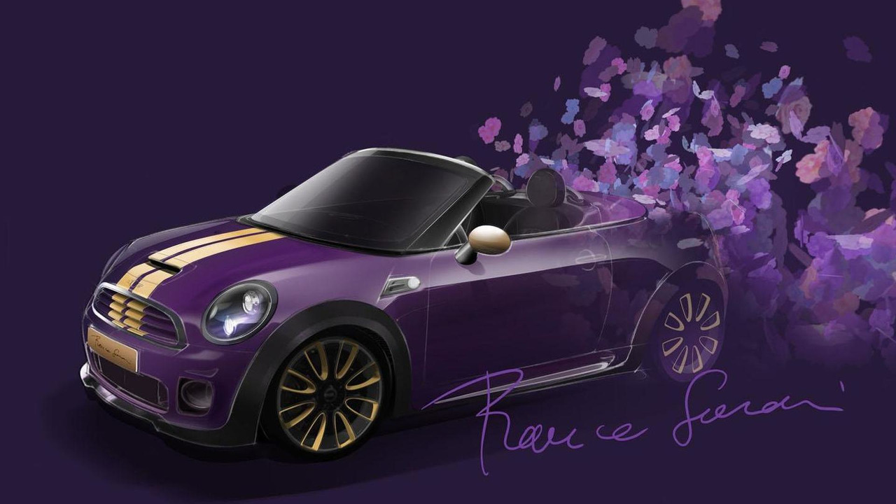 MINI Roadster teased for Life Ball benefit 02.5.2012