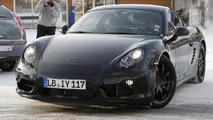 2013 Porsche Cayman spied up close: most revealing shots yet