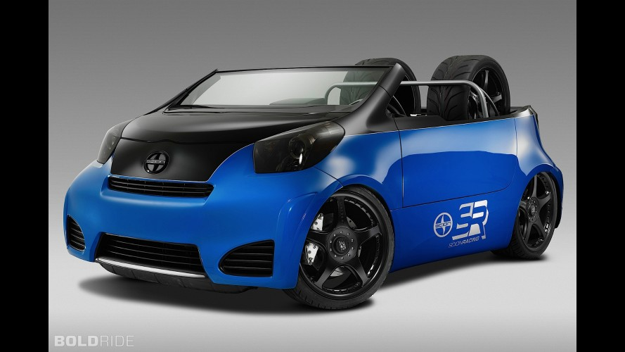 Scion iQ Pit Boss Cartel SEMA