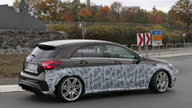 2017 Mercedes-AMG A45 prototype spy photo