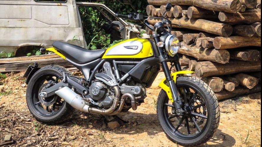 Ducati Scrambler é convocada para recall em suporte
