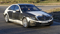 2013 Mercedes-Benz S-Class spy photo 10.12.2012 / Automedia
