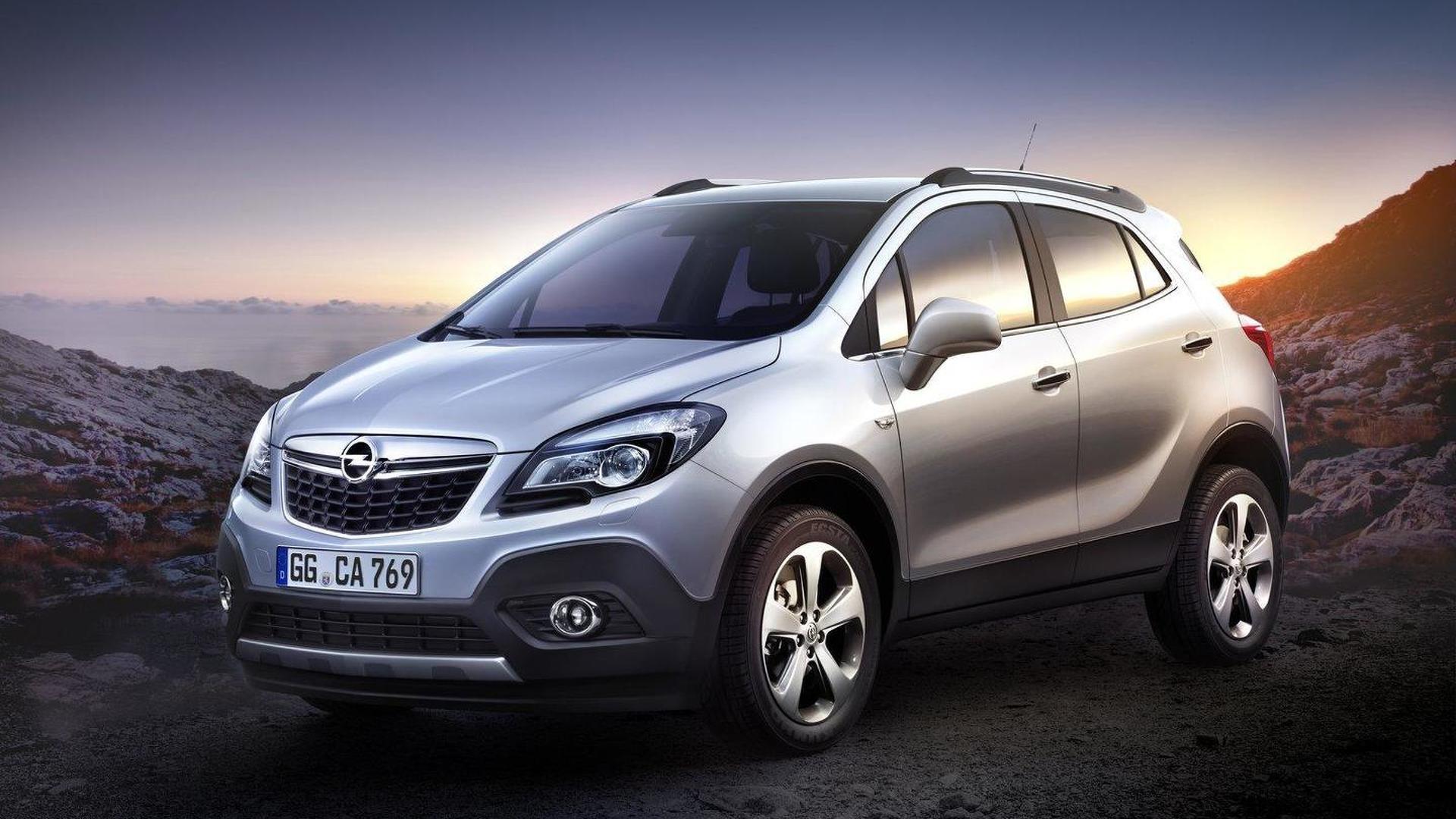 2013 Opel Mokka and Buick Encore revealed [video]