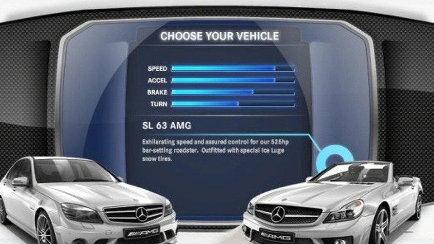 Mercedes-Benz AMG Holiday Game
