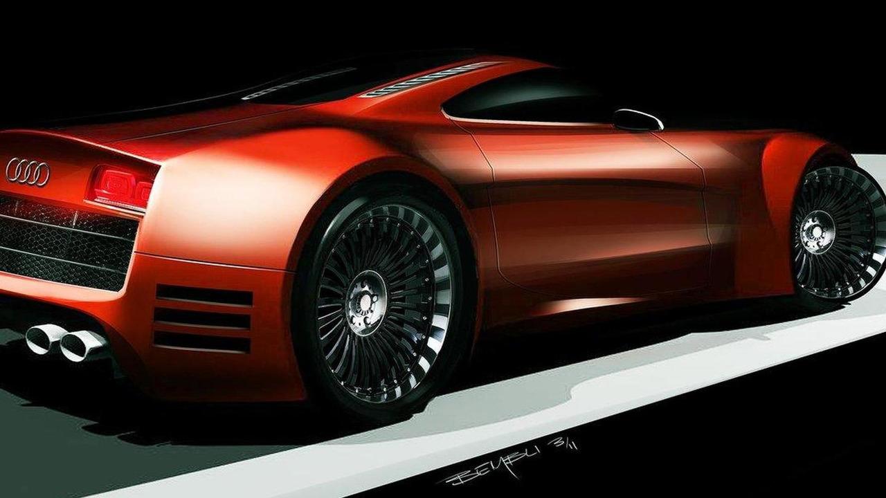 Bembli Design Audi R10 facelift rendering 23.03.2011