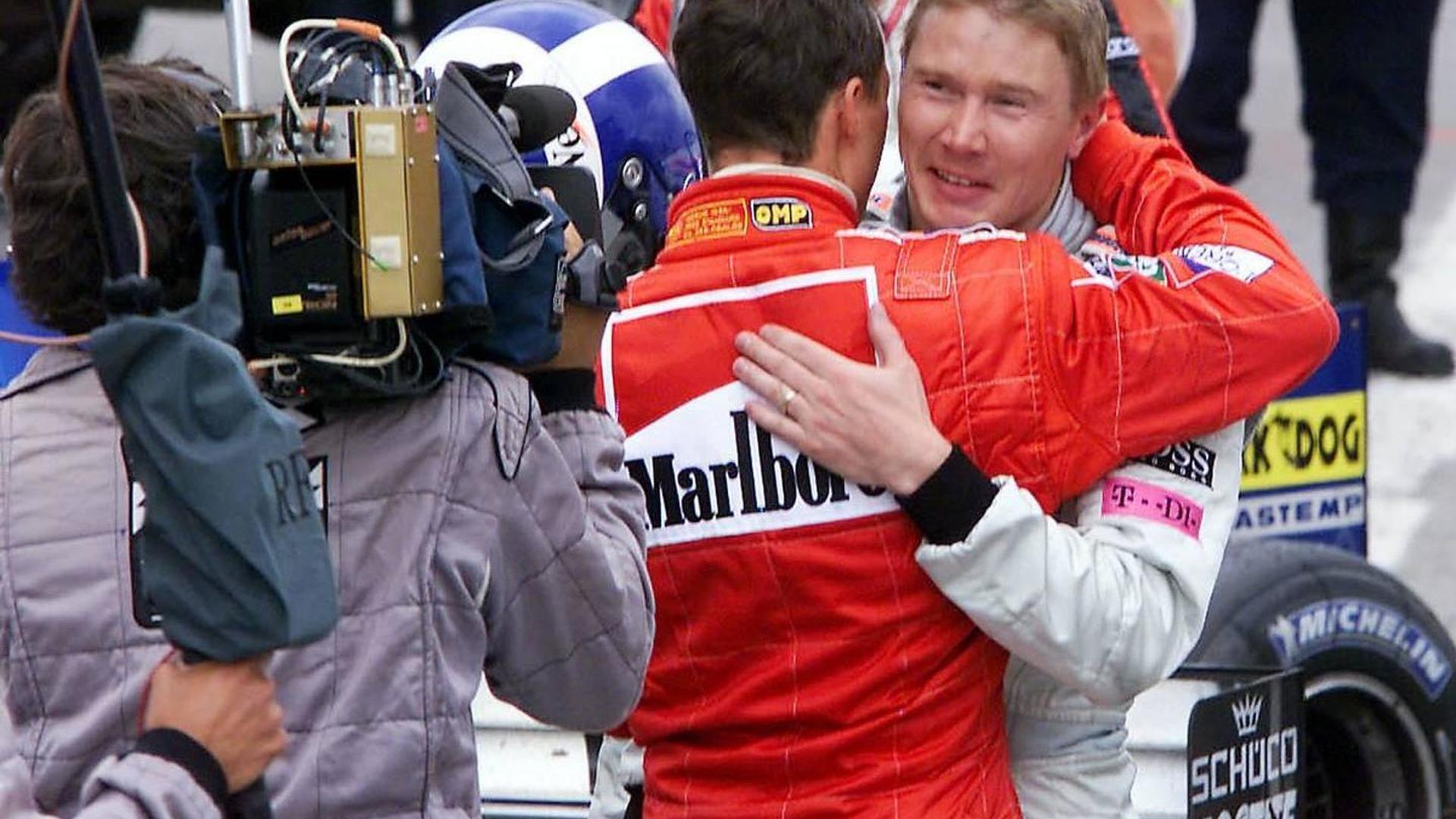 Hakkinen did not write 'tragic hero' Schumacher column