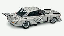 The BMW Art Car by Frank Stella in miniature