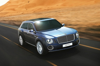 Bentley Targets 200 MPH, Off-Road Capability in New SUV