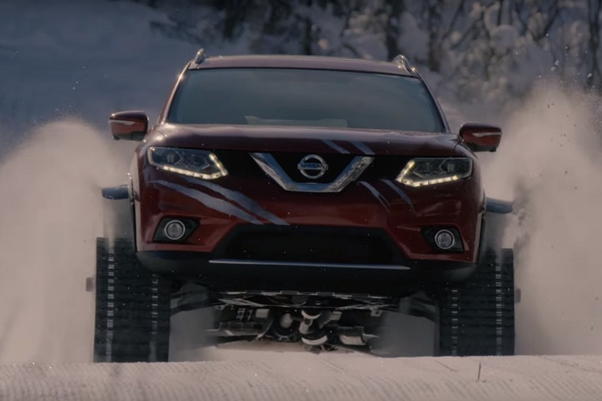 Watch This Nissan Rogue Warrior Prototype Play in the Snow