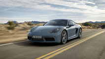 2017 Porsche 718 Cayman welcomes four-cylinder engines